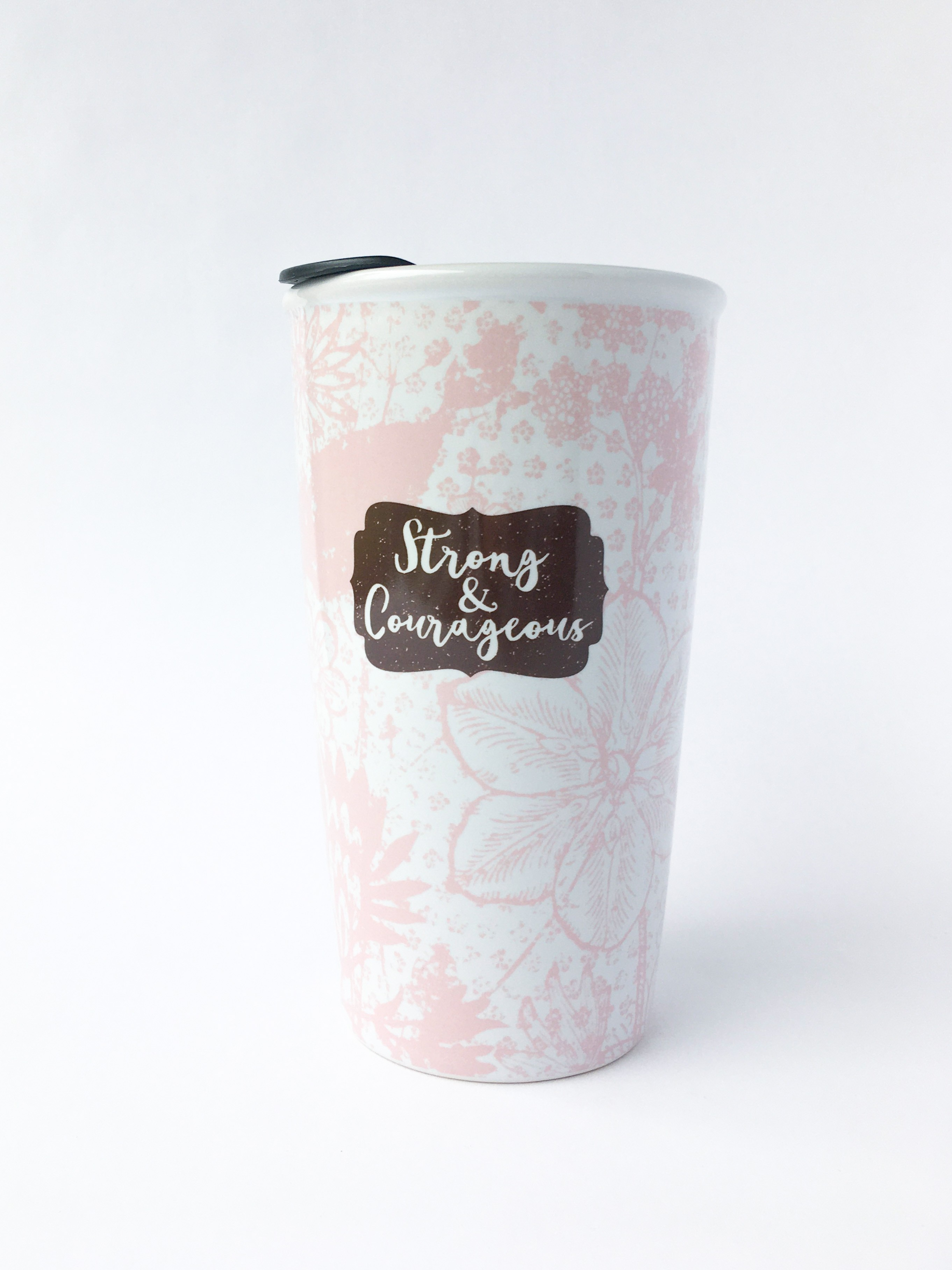 Strong and Courageous Tumbler