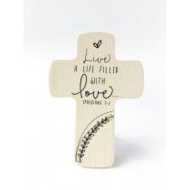 A Life Filled With Love Cross