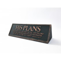 His Plans Desktop Reminder