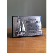 Sailboat Plaque, Jeremiah 29:11