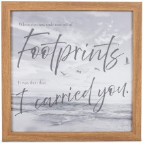 FOOTPRINTS CANVAS
