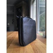 Bible Cover- Leather Midnight Black