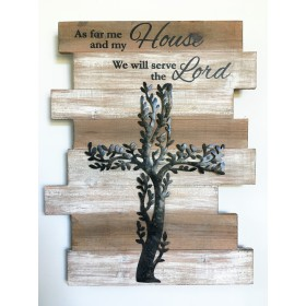Tree Plaque - As For Me & My House