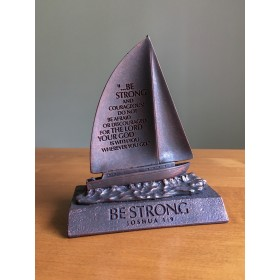 Be Strong, Boat Sculpture