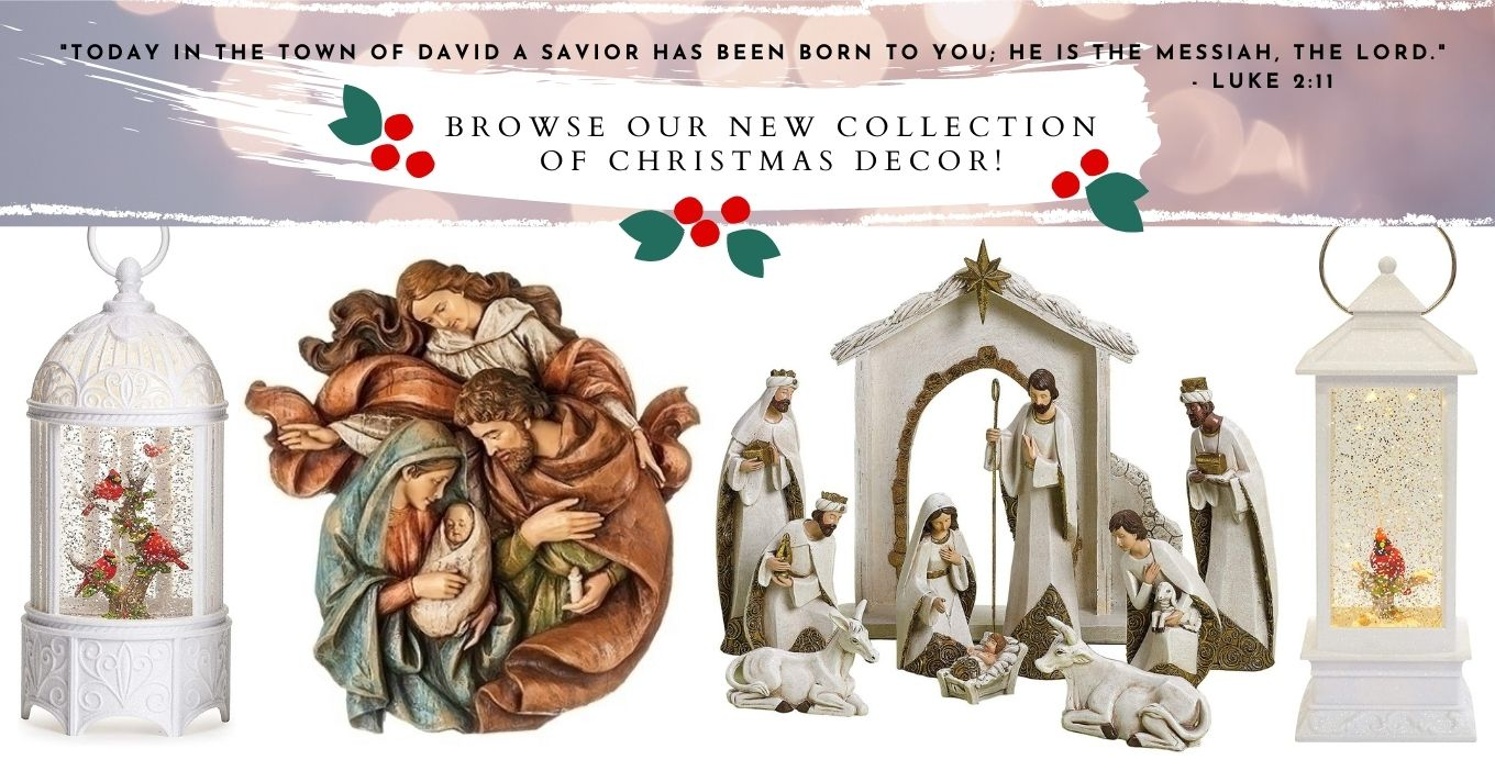 Browse our New Collection of Christmas Decor